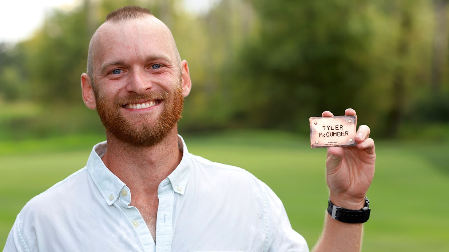 Tyler McCumber - Pro V1x golf ball  |  No. 24 in...