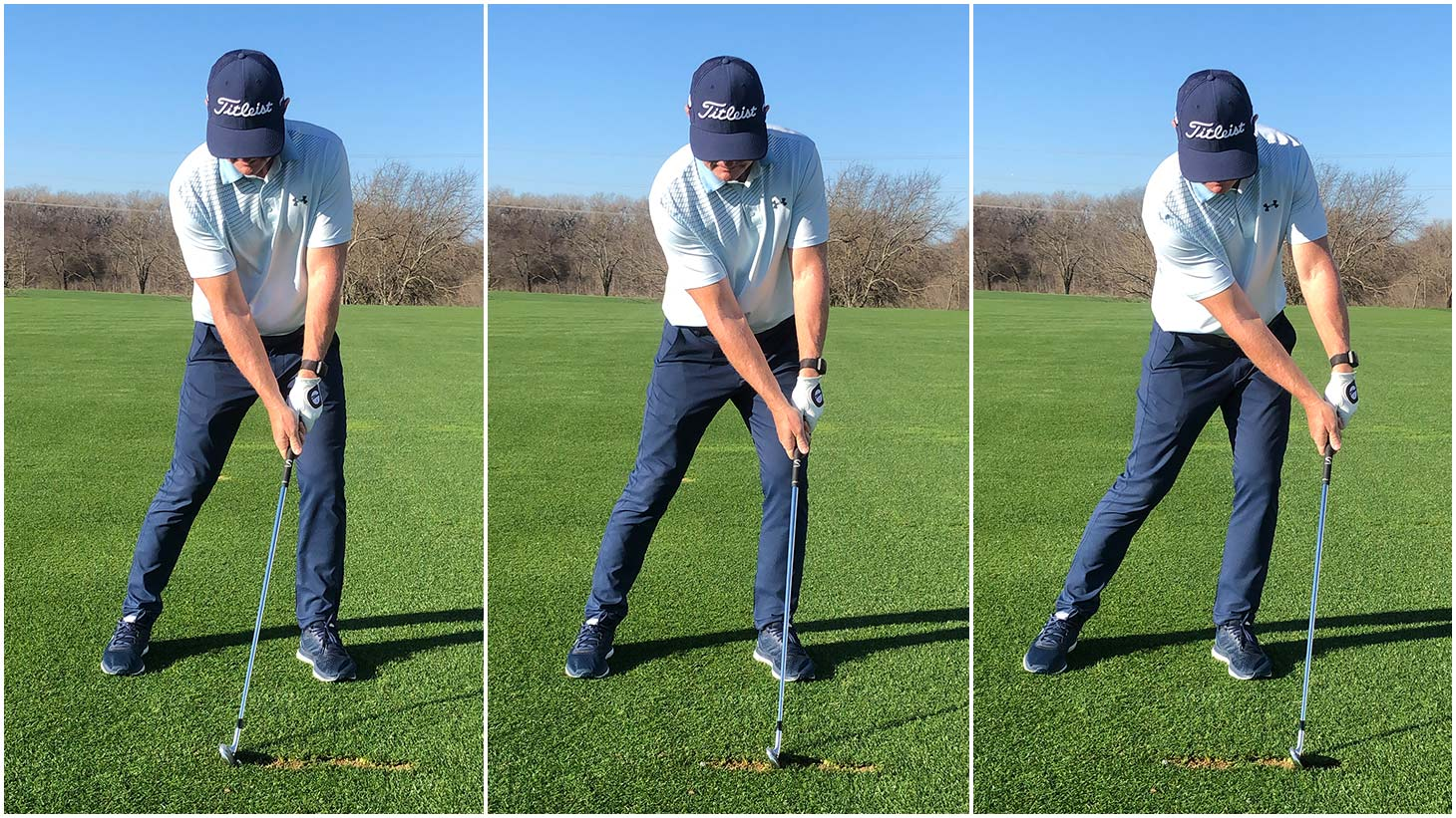 In the Linked Divots Drill, the goal is to create...