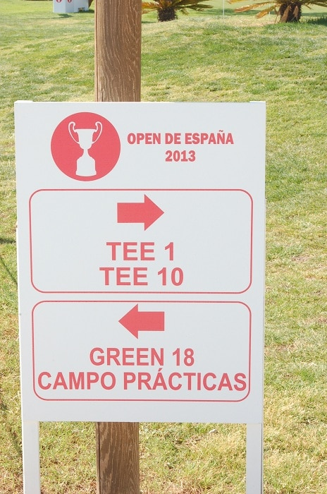 This week, we are at the Open de Espana at the...