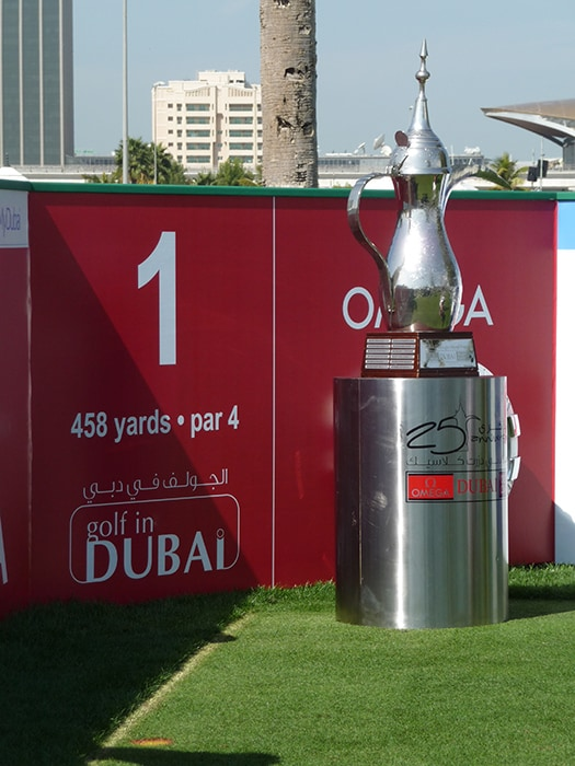 Welcome to the Omega Dubai Desert Classic....the...