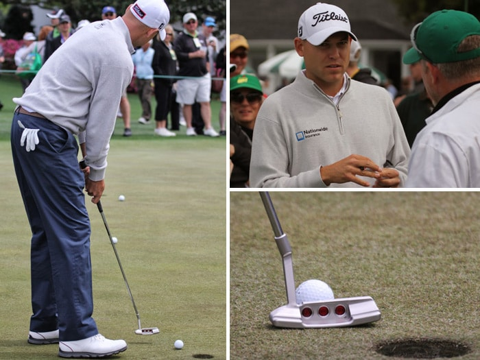 Titleist Brand Ambassador Bill Haas also put in a...