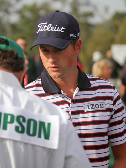 Webb is hoping for a second major to go with his...