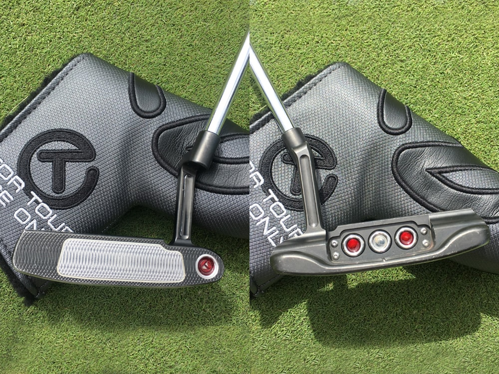 Gregory Bourdy's Scotty Cameron of choice The...