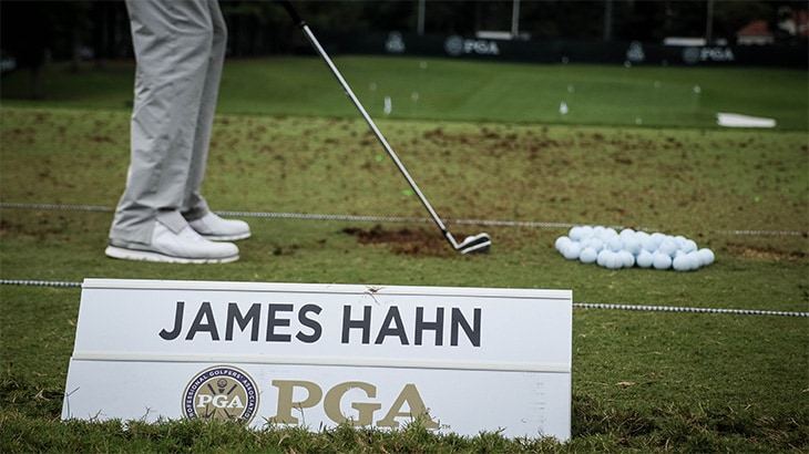 Pro V1x loyalist James Hahn will be competing on...