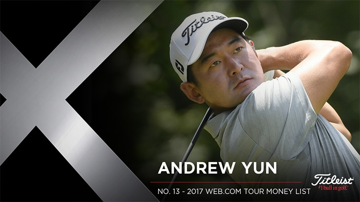 Titleist Brand Ambassador Andrew Yun recorded five...
