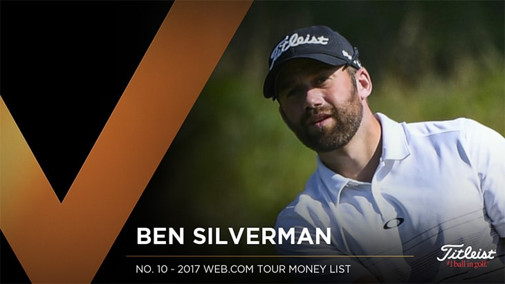 Titleist Pro V1 loyalist Ben Silverman recorded...