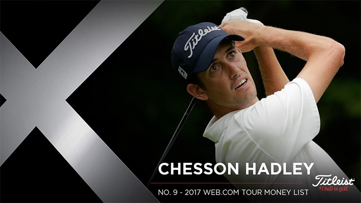 Titleist Brand Ambassador Chesson Hadley recorded...