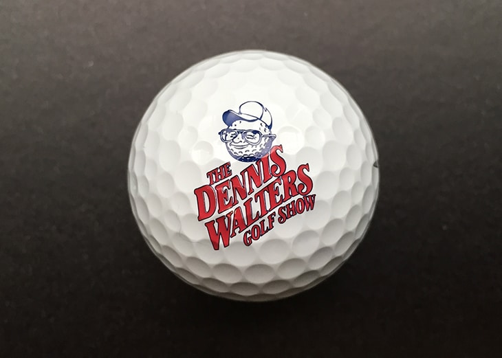 The official golf ball of The Dennis Walters...