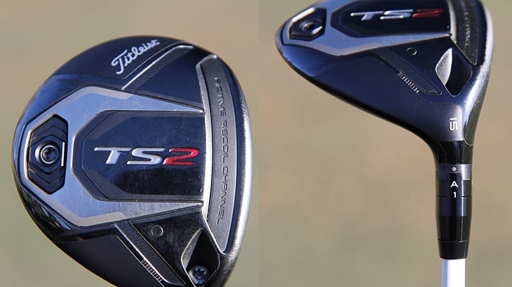 Charles carries two new TS2 fairway metals, a 15°...