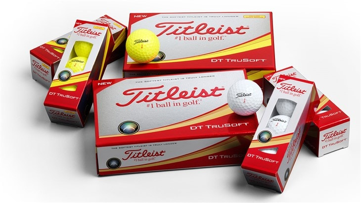 Introducing the New 2017 DT TruSoft Golf Balls