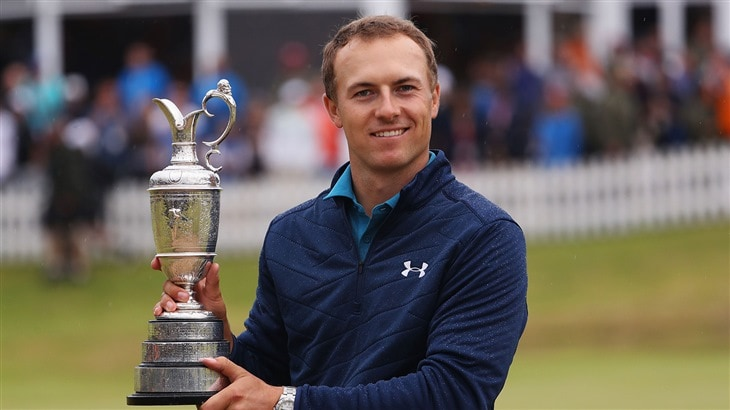 Spieth Rallies to Raise the Claret Jug at Royal Birkdale