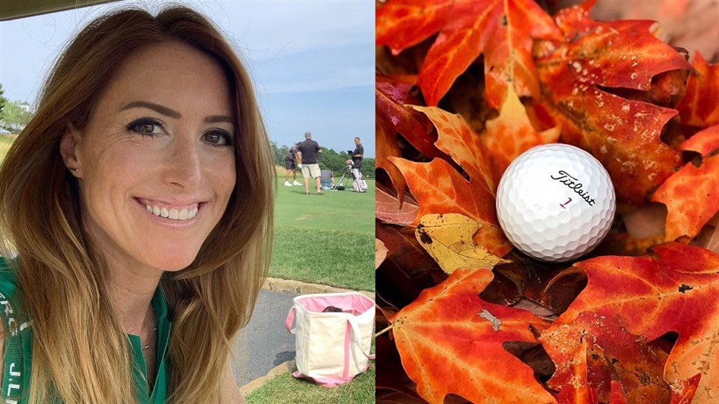 Titleist staff instructor Trillium Rose, Director of Instruction at Woodmont Country Club in Rockville, Maryland