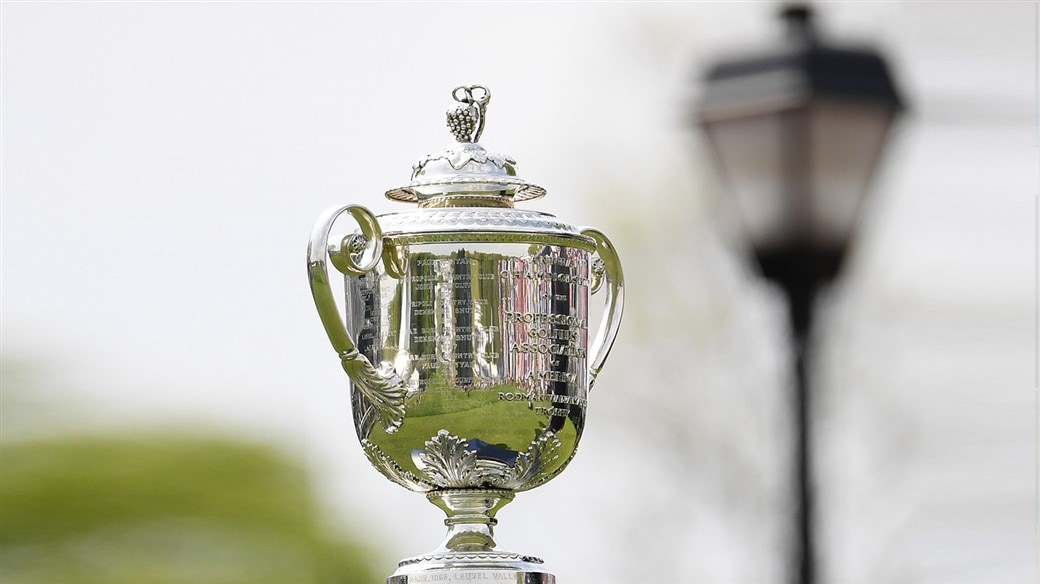 The Wannamaker Trophy, the prize for the winner of the PGA Championship, was lifted this year year by a player trusting a Titleist Pro V1x golf ball.