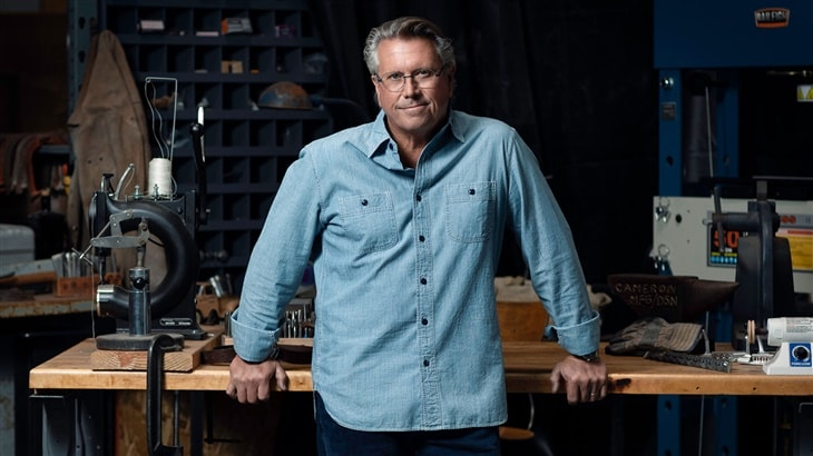 Image of Scotty Cameron at his Putter Studio