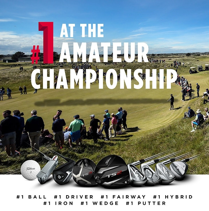 #ProvingIt at every level - Titleist sweeps every category count at the Amateur Championship