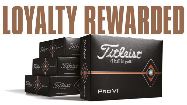 Loyalty Rewarded 2019: Thank you for trusting your game to Pro V1, Pro V1x and AVX