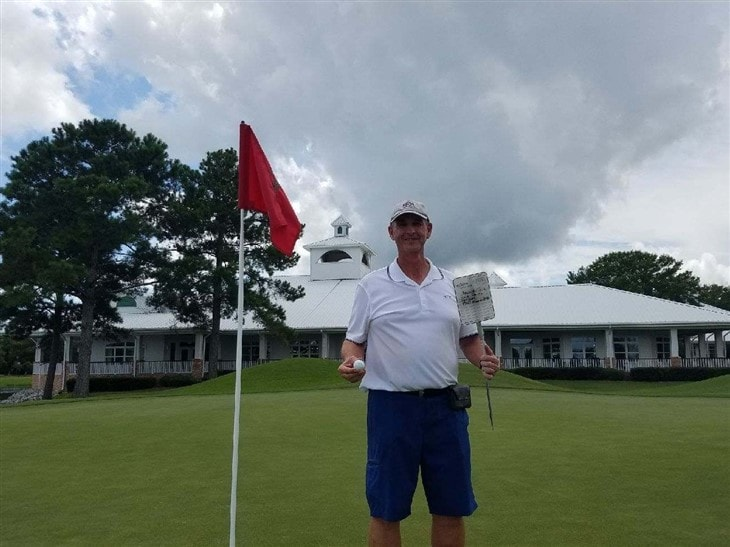 Phillip' 1st Hole-In-One