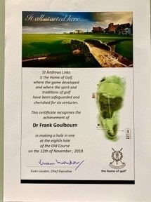 Dr Frank Goulbourn