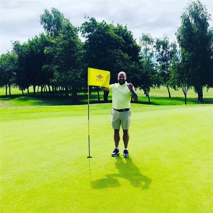 First ever hole in one