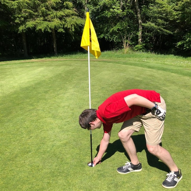 Covid-19 Hole-In-One!